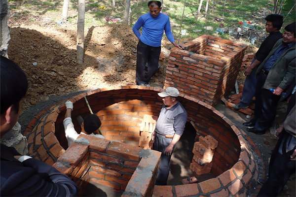 Training programme in biogas digester construction in Shandong province
