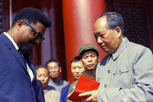 Malcolm X and Mao Zedong in China