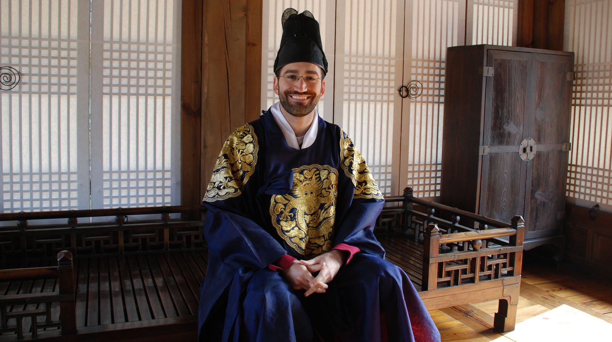 FLAS Fellowship Recipient studies in Korea